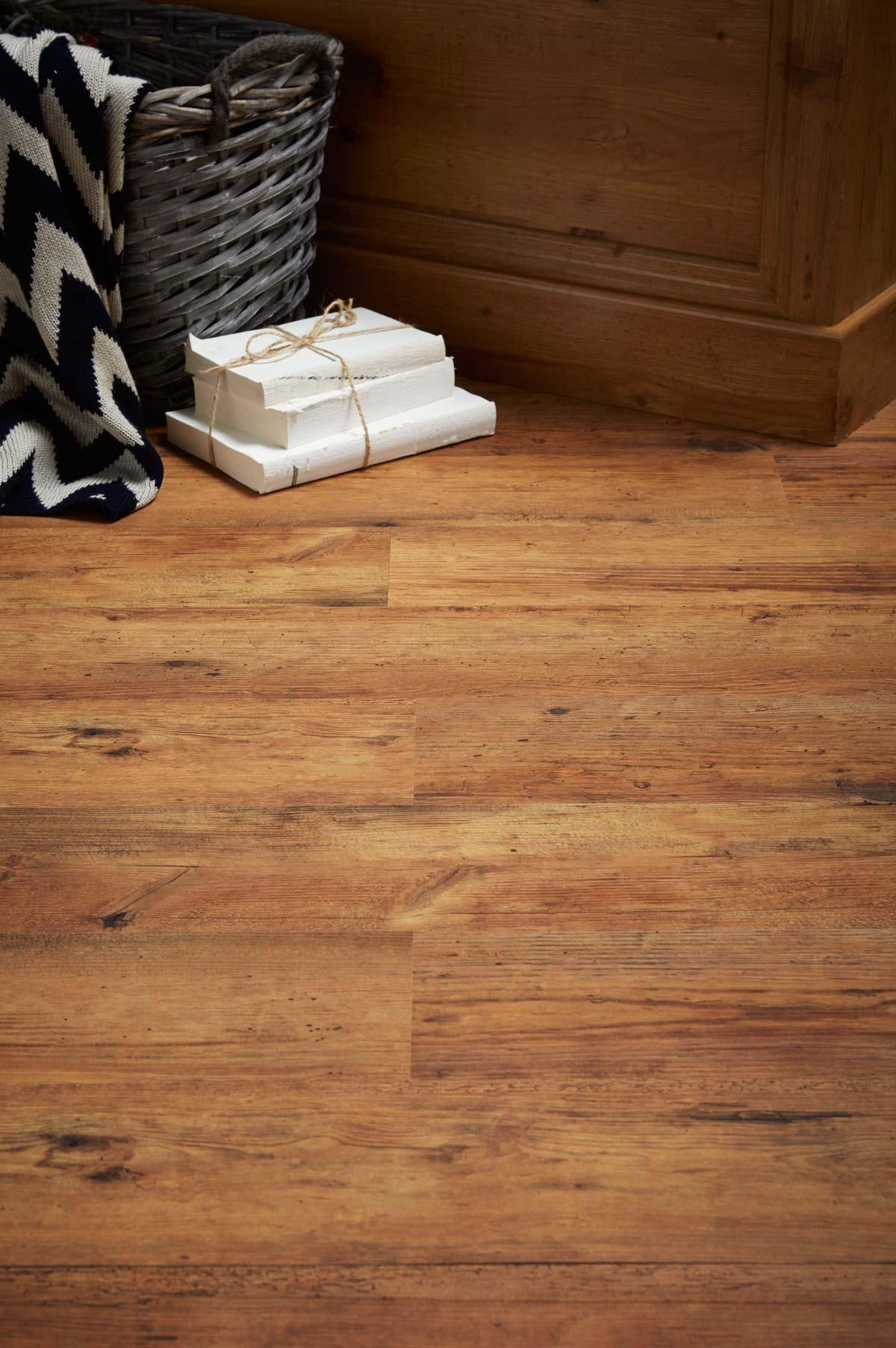Rustic Oak Effect Luxury Vinyl Flooring From J2