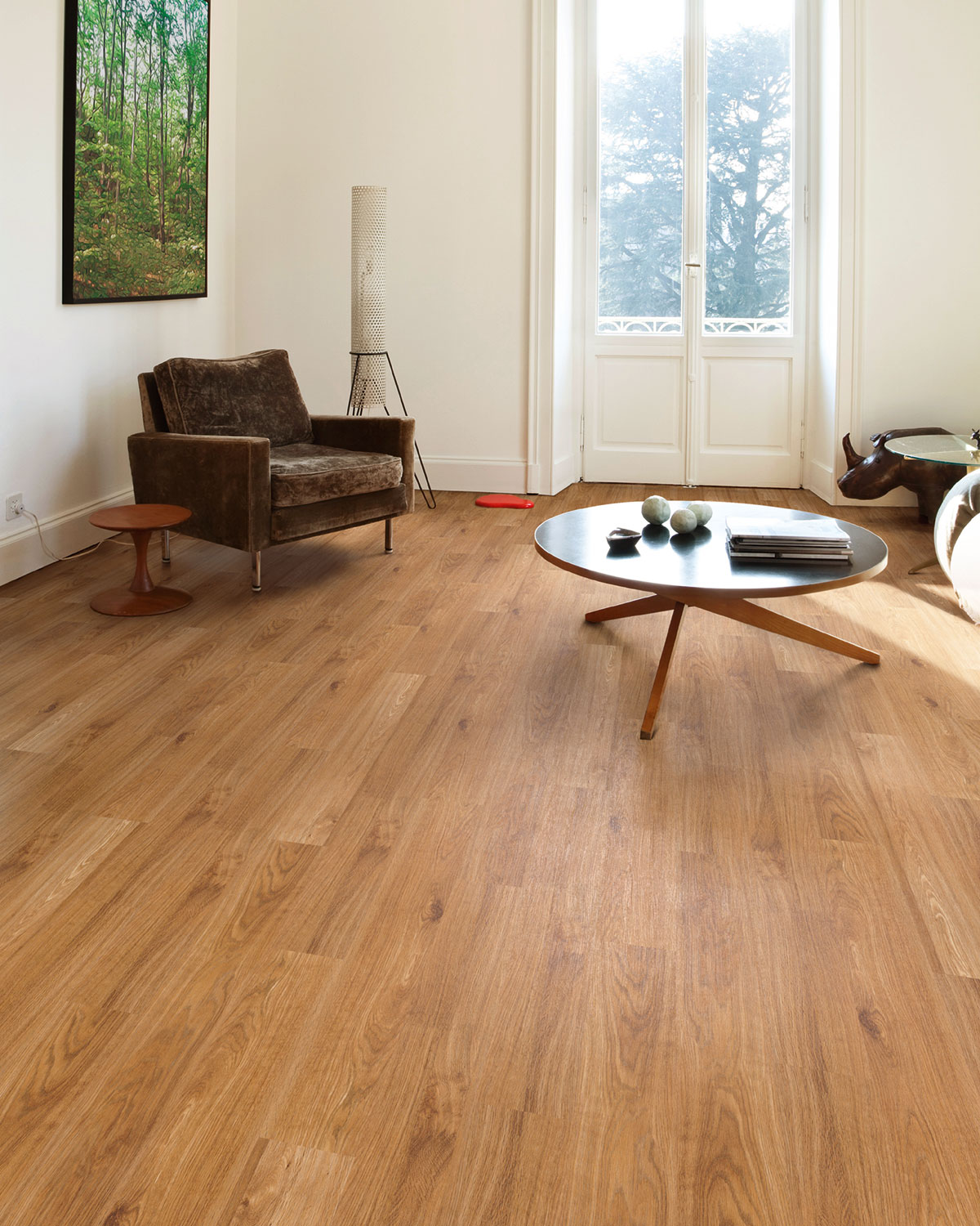 Rt02 Golden Oak Natural Wood Luxury Vinyl Flooring