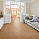 Natural Oak effect luxury vinyl flooring from j2 Flooring