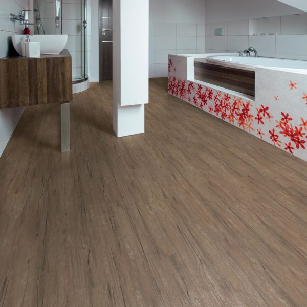 Grey Cottage Oak effect luxury vinyl flooring from j2 Flooring