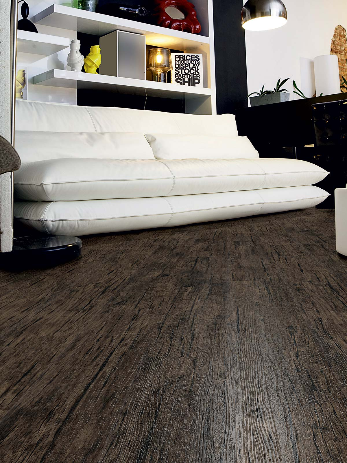 Distressed Timber Effect Luxury Vinyl Flooring From J2