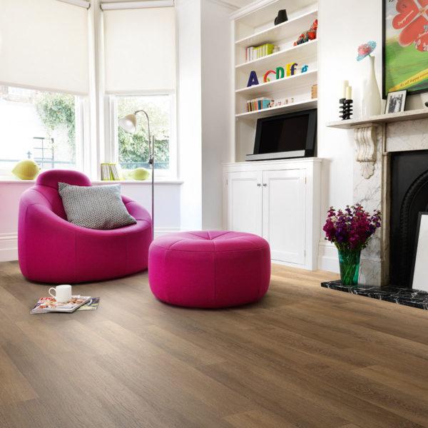 Limed Oak effect luxury vinyl flooring from j2 Flooring