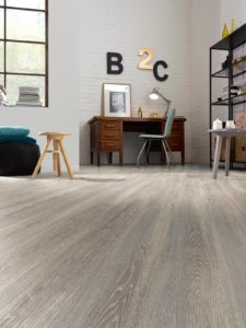 Smoky Grey Oak effect luxury vinyl flooring from j2 Flooring