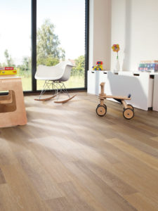 Bleached Oak effect luxury vinyl flooring from j2 Flooring