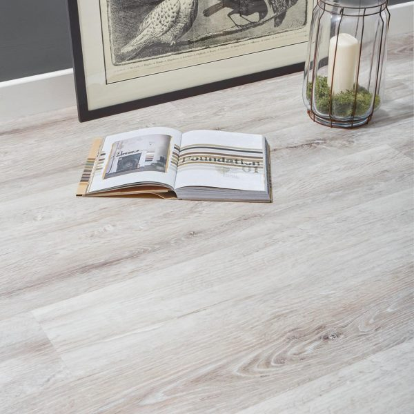 Sun Bleached Wood Grey effect luxury vinyl flooring from j2 Flooring